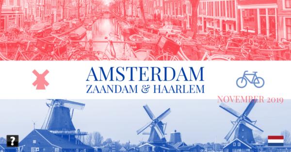 Amsterdam trip photo collage
