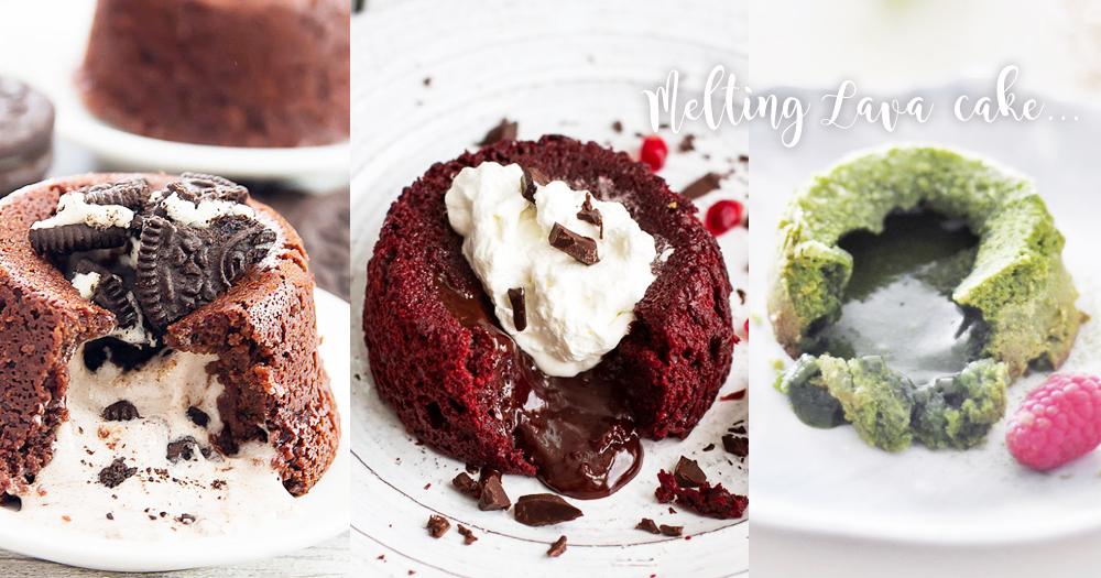 熔岩流心的誘惑!10款除了巧克力外更吸引人的熔岩蛋糕!