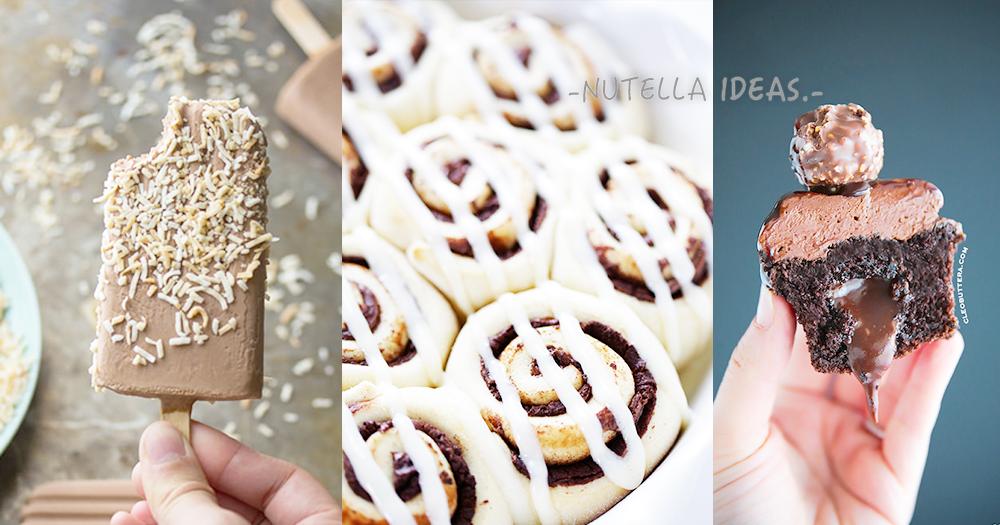 榛子醬只用來塗麵包太浪費了~令人難以抗拒的Nutella 10種妙用!