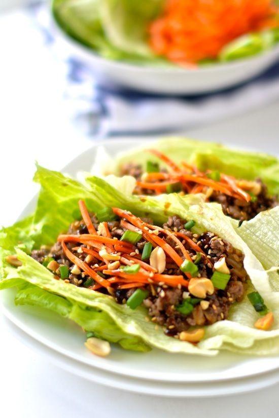 泰式生菜包肉
