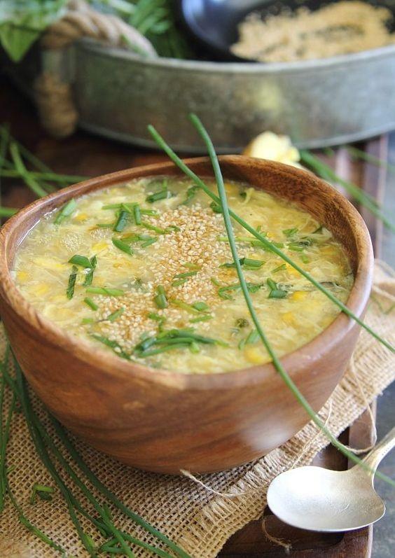 玉米蛋花湯