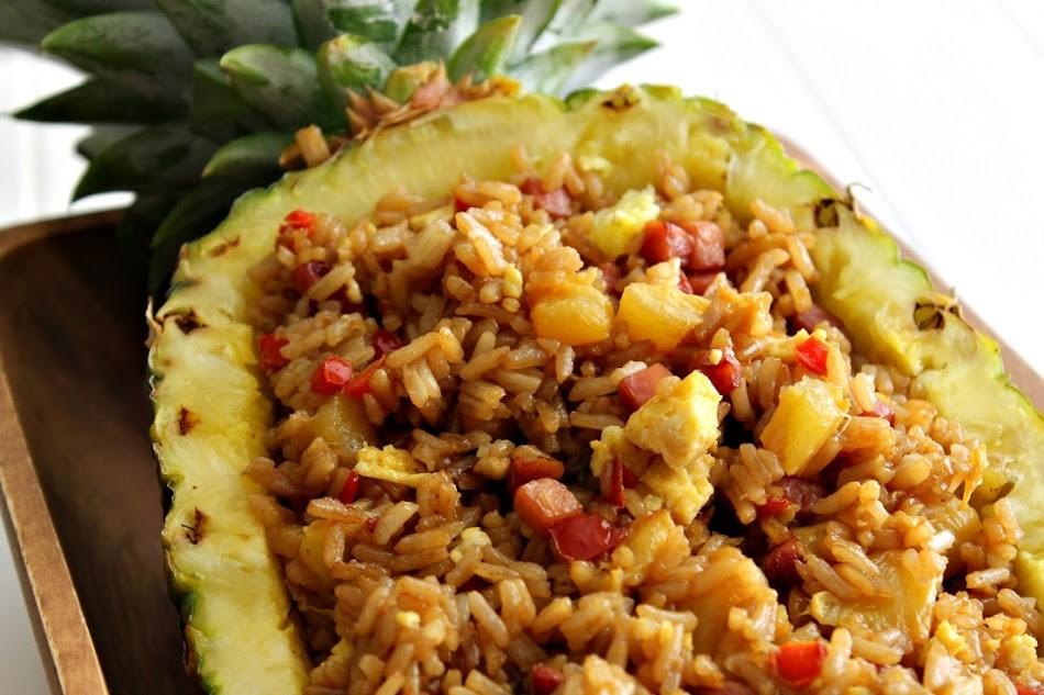 菠蘿炒飯1
