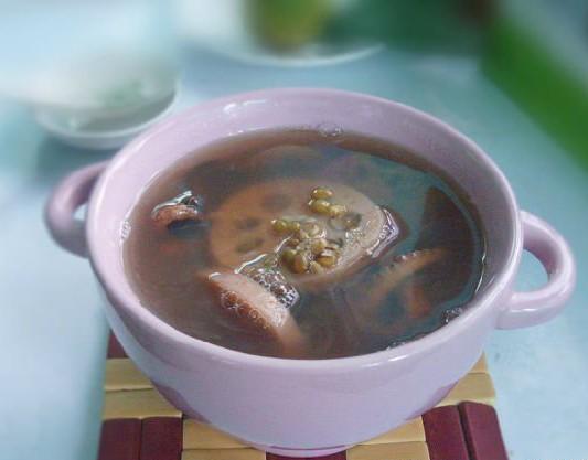 章魚蓮藕綠豆湯