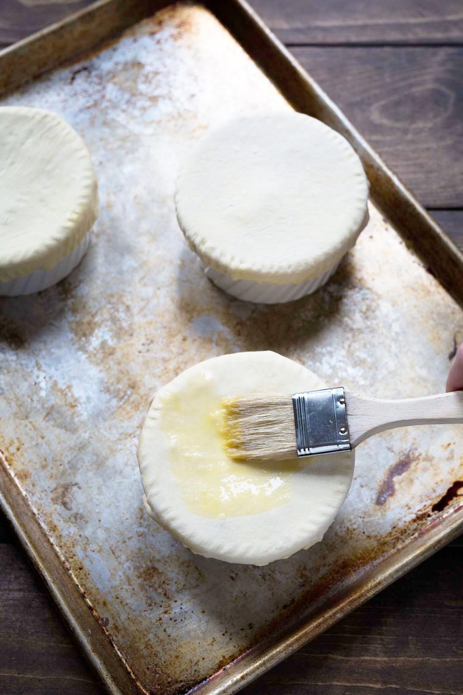 酥皮蘑菇洋蔥湯