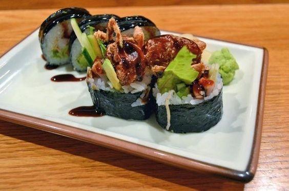 牛油果軟殼蟹壽司5