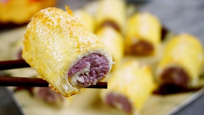 芋頭紫薯卷1
