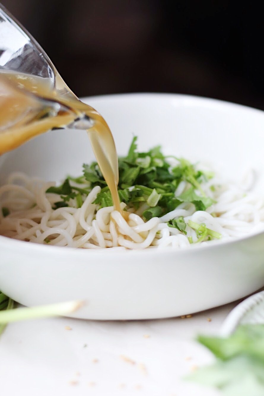 越式雞肉菜心湯麵4