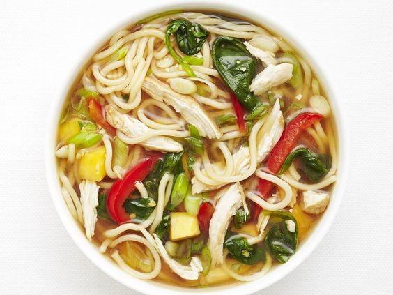 越式雞肉菜心湯麵3