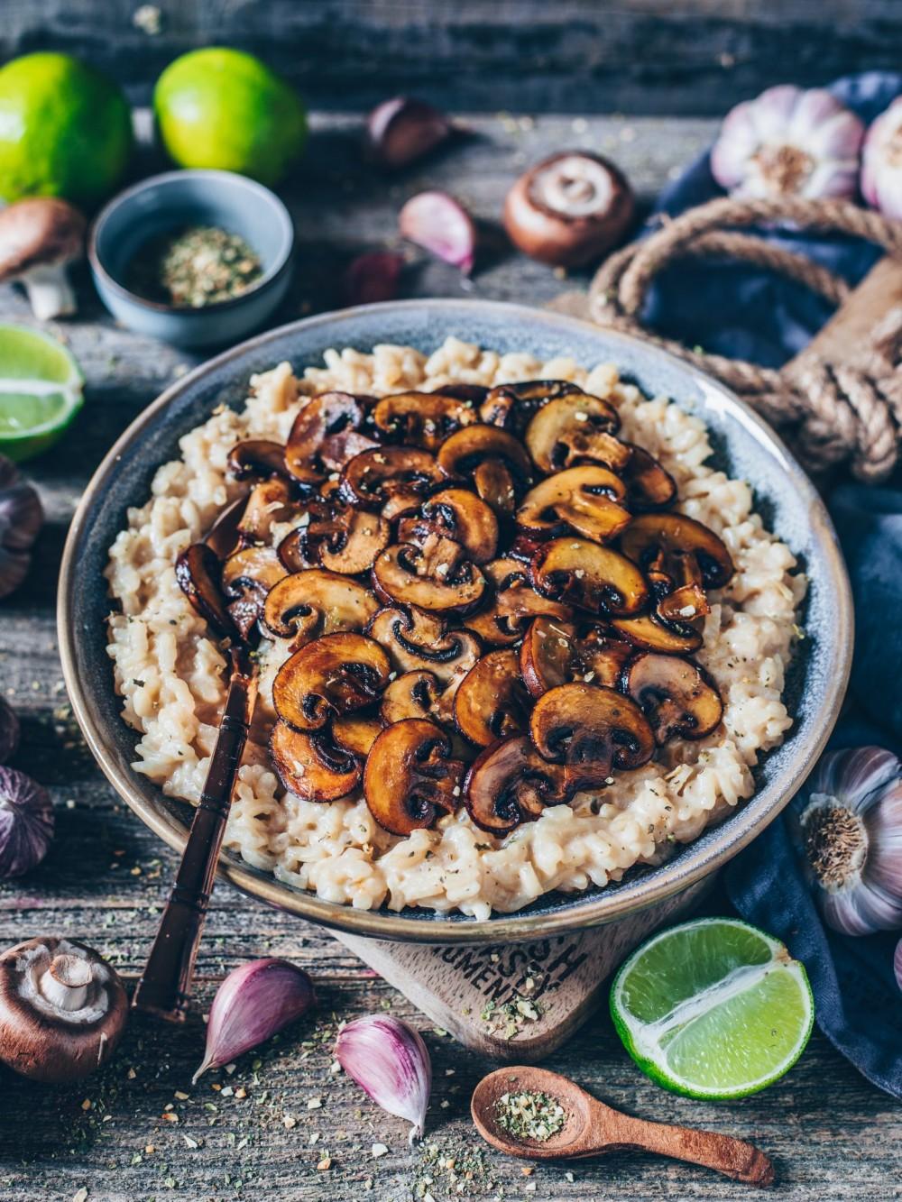 奶油野菇燉飯3