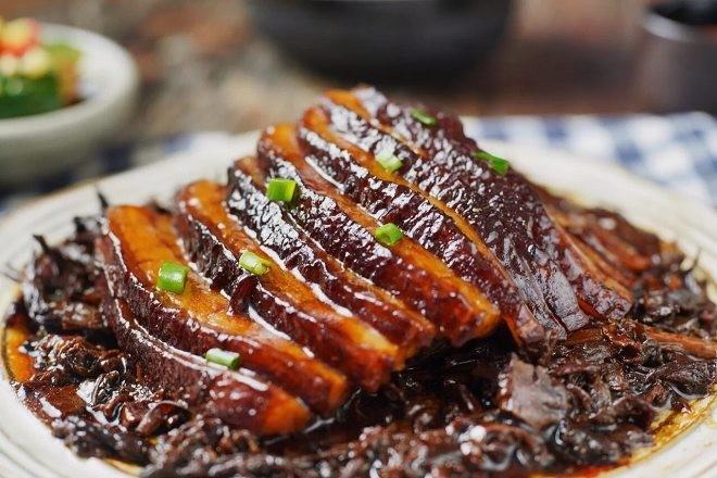 梅菜扣肉1