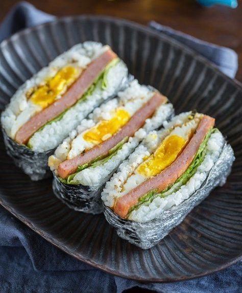 午餐肉飯糰5