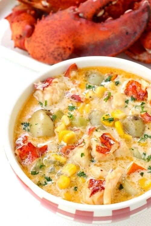 龍蝦玉米湯1