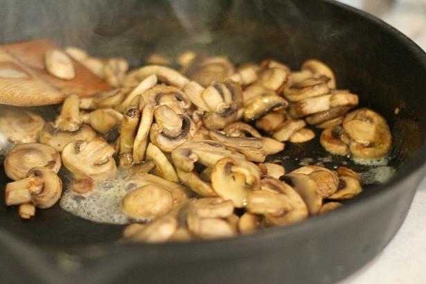 奶油野菇燉飯2