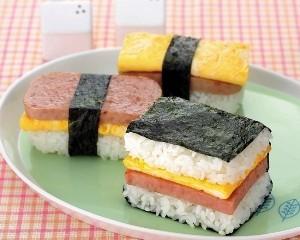 午餐肉飯糰2