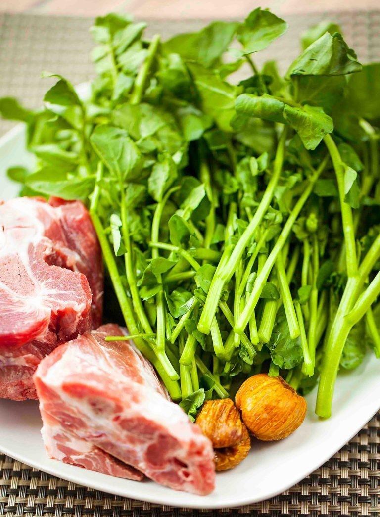 西洋菜紅蘿蔔豬骨湯2