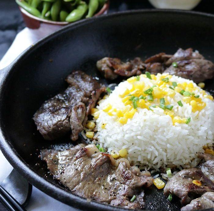 黑椒牛肉飯1