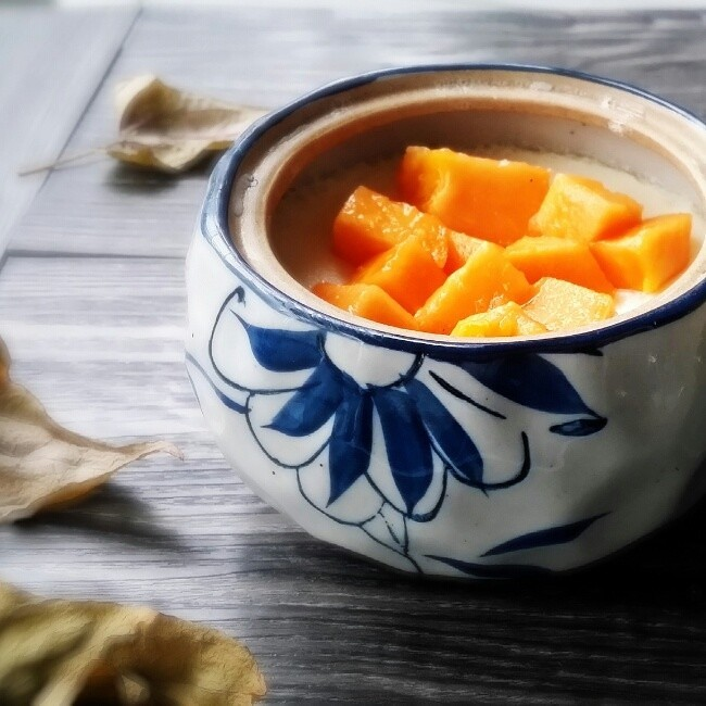 木瓜燉牛奶1