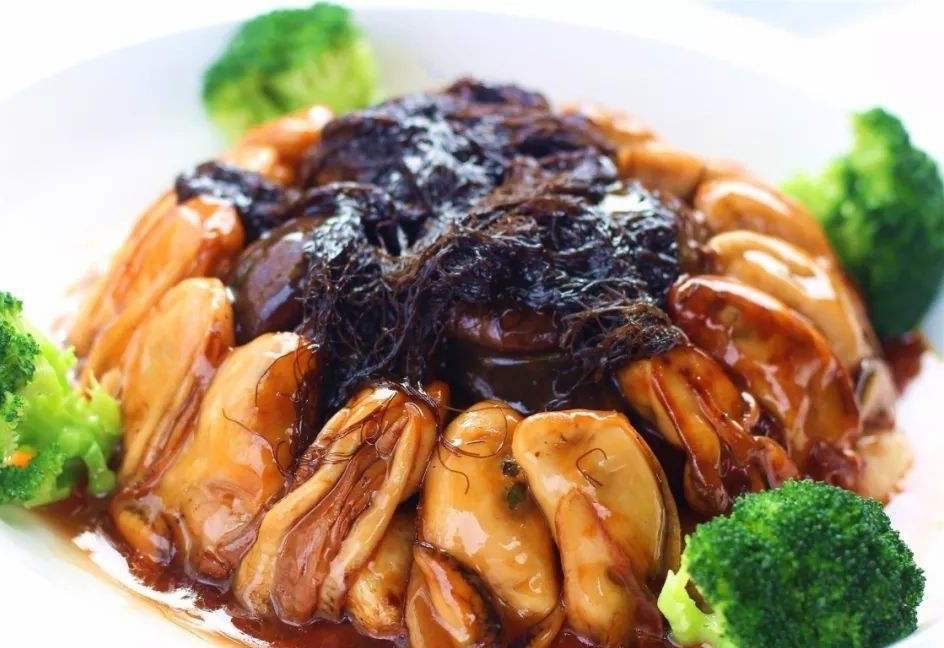 花菇蠔豉燜海參1