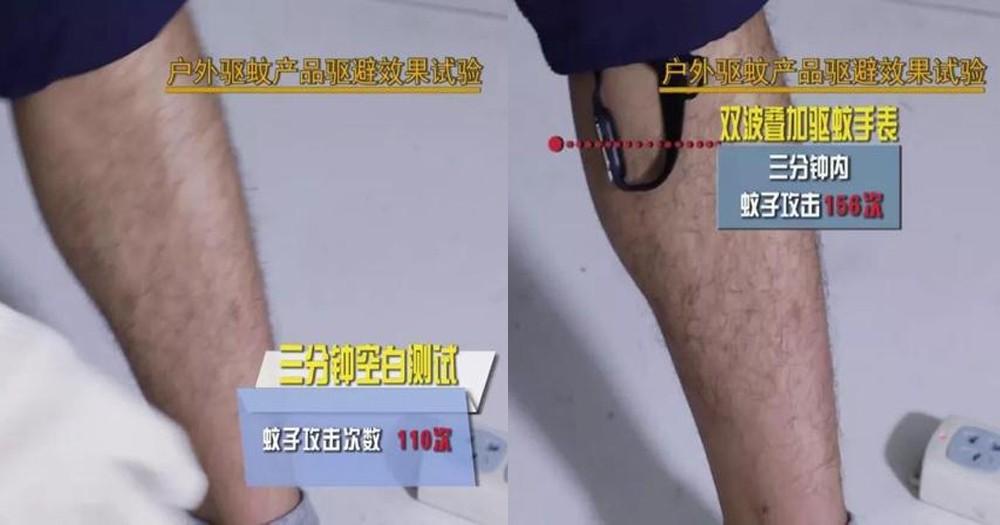 雙波疊加驅蚊手錶