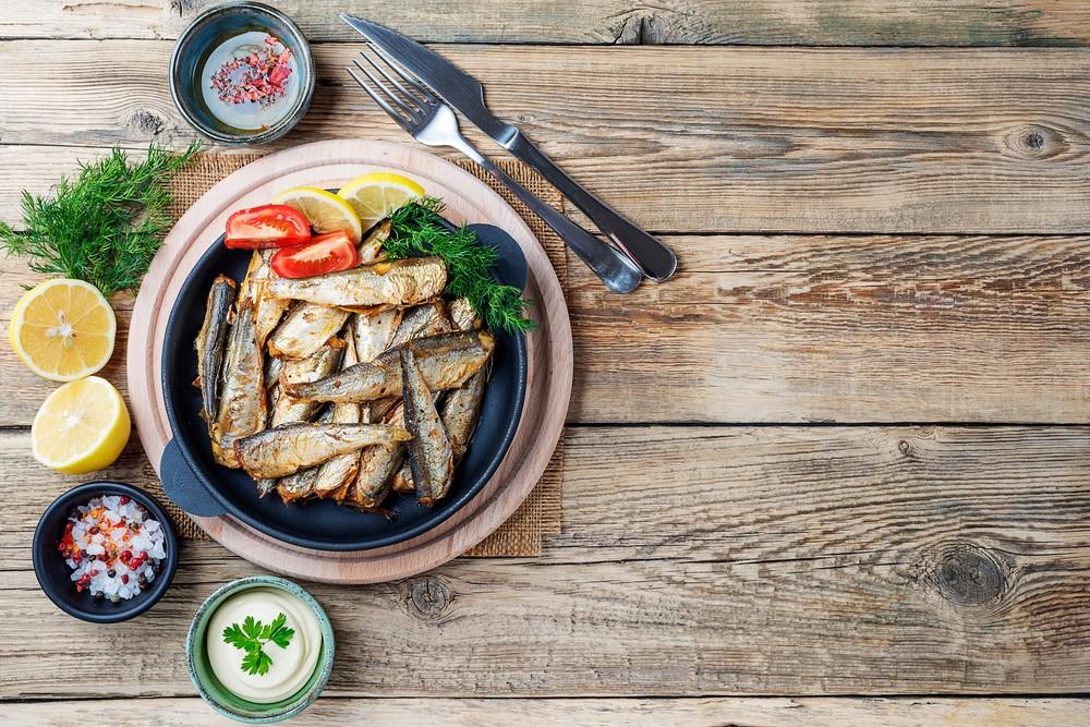沙甸魚含有大量營養,150克的乾沙甸魚,提供每日維他命B12建議攝取量的雙倍 。