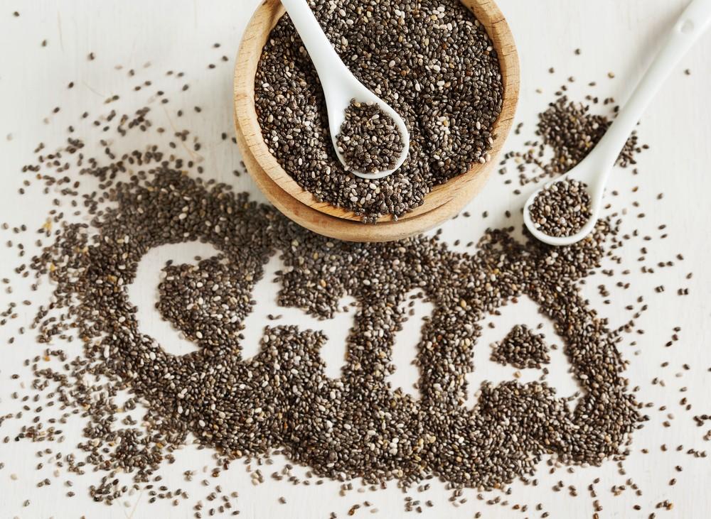 種子為低卡食物,含有豐富纖維,和對心臟有益的奧米加3脂肪酸。