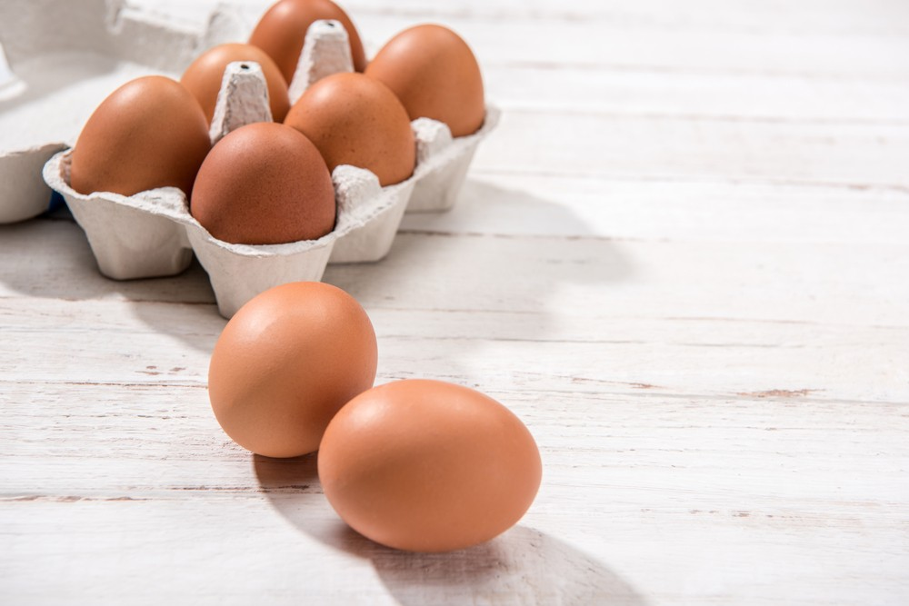 雞蛋含有充足的蛋白質和維他命B,尤其是維他命B2和維他命B12。