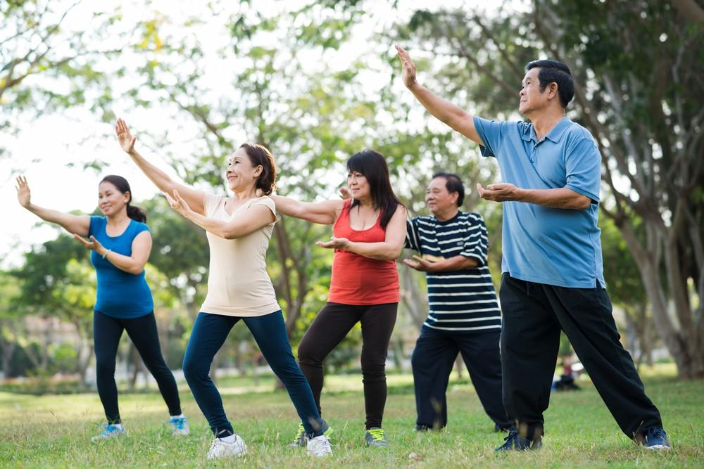 這套「防跌太極十式」可減低長者摔跌率達百分之四十七,同時亦有效減低長者對摔跌的恐懼感。