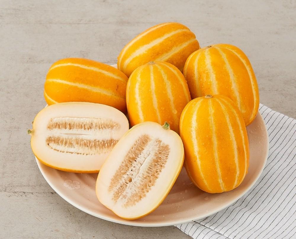 香瓜是韓國特產,熱量低,有助減肥。