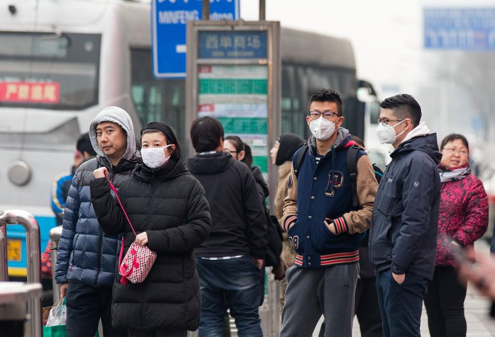 武漢肺炎疫情蔓延。
