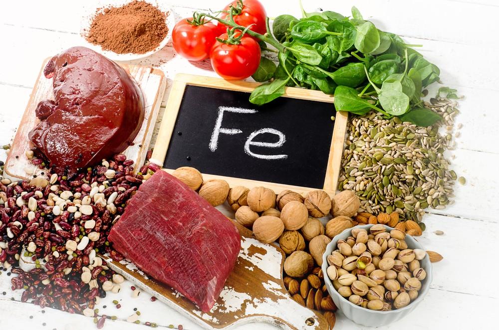 鐵質負責製造紅血球。