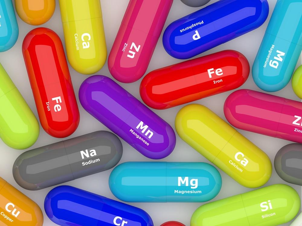 維他命和礦物質都是維持身體健康不可或缺的物質。