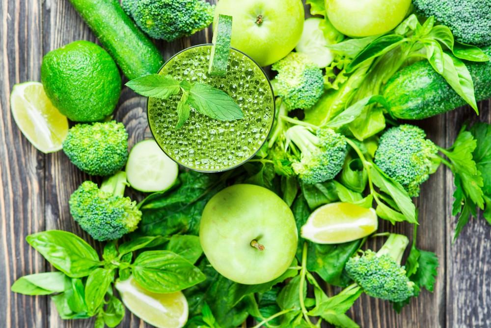 在綠色蔬菜中能夠攝取到維生素A、維生素K、鉀、鈣等重要營養素。