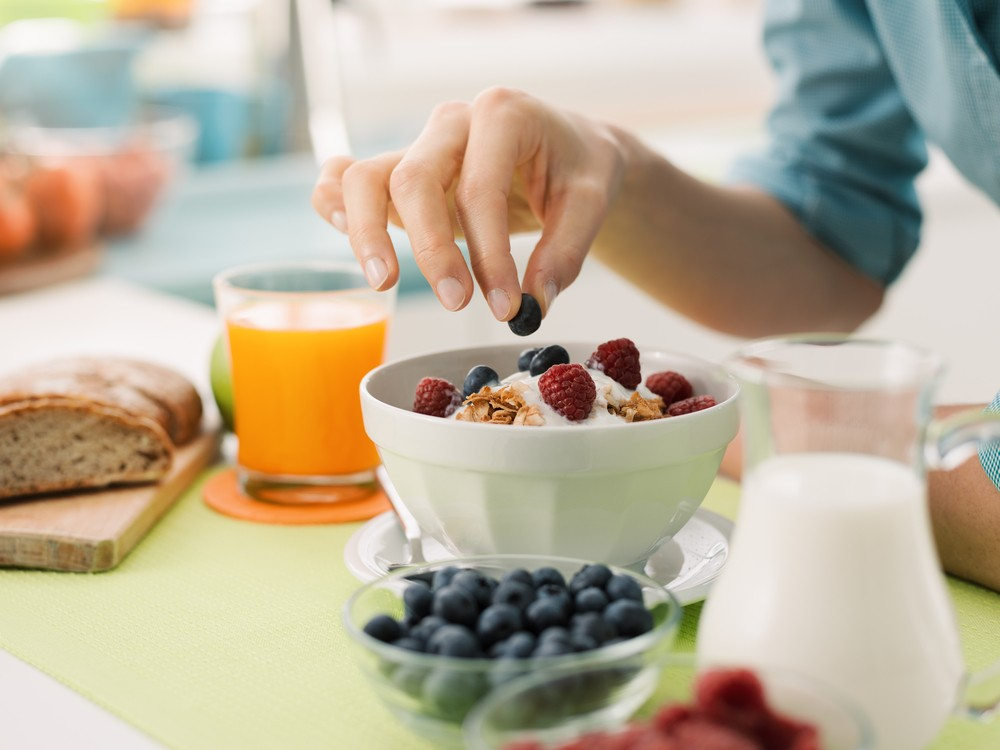 Home Office更要把握時間吃早餐。