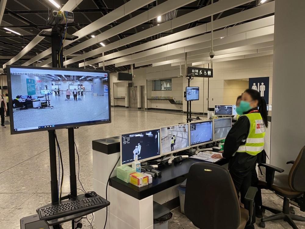 「智能發燒偵測系統」(SFSS)可以將熱成圖像及彩色影像融合於同一屏幕,比起傳統的體溫檢測系統分開兩個屏幕方便得多,檢疫人員不需再在短時間內於兩個屏幕中尋找懷疑發燒旅客。