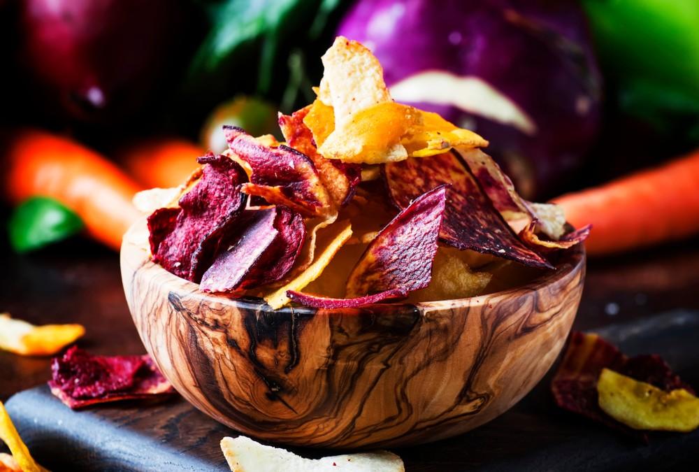 蔬菜脆片平均致癌物含量之冠。