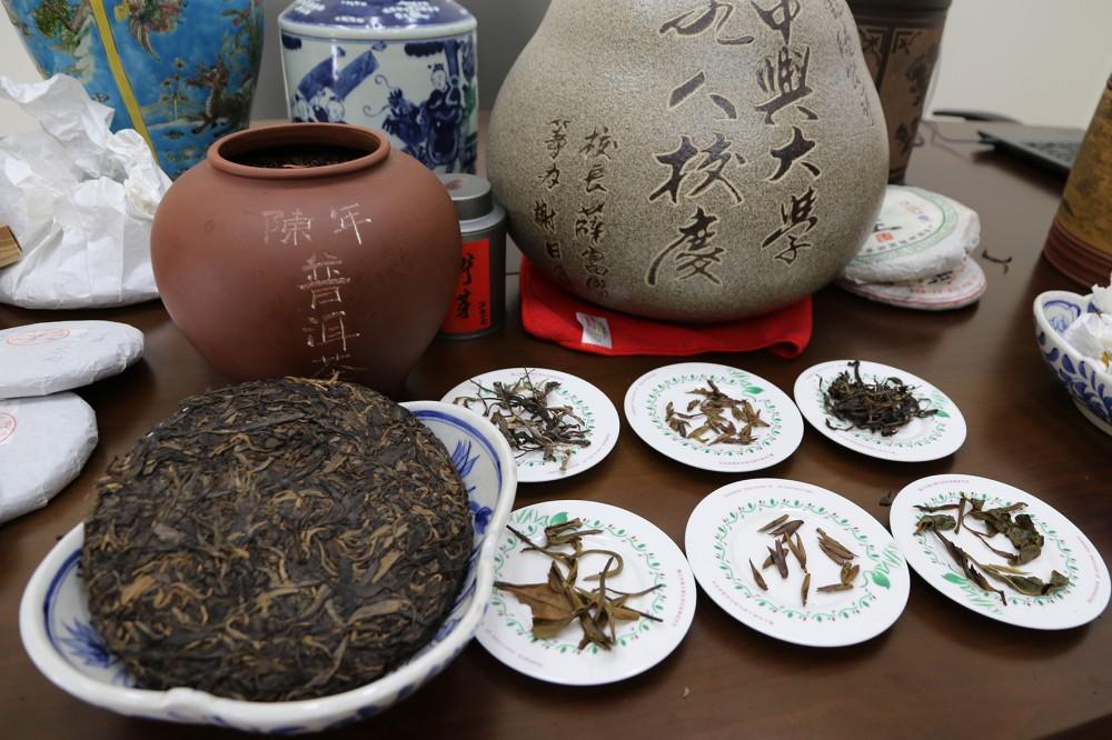 普洱茶中的主要多酚成分之一,水解型鞣酸單寧-strictinin可有效抑制胰脂解酵素,減緩油脂分解吸收。