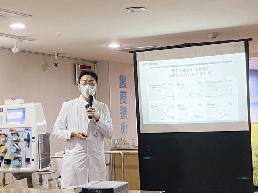 王偉傑表示,這項治療方式已經被國際期刊正式接受,「血液淨化技術」沒有藥物副作用帶來的不良影響。