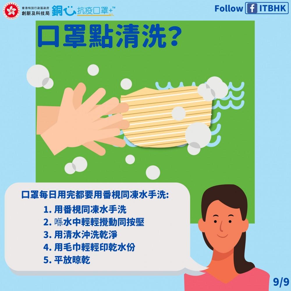 政府將向全港市民派發可重用口罩「銅芯抗疫口罩」(CuMask)。但你知不知,如何正確使用及清洗?