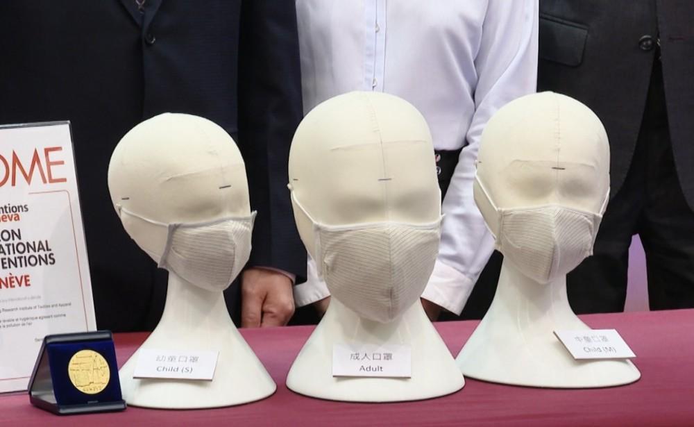 據政府資料,銅芯抗疫口罩由六層功能物料構造而成。