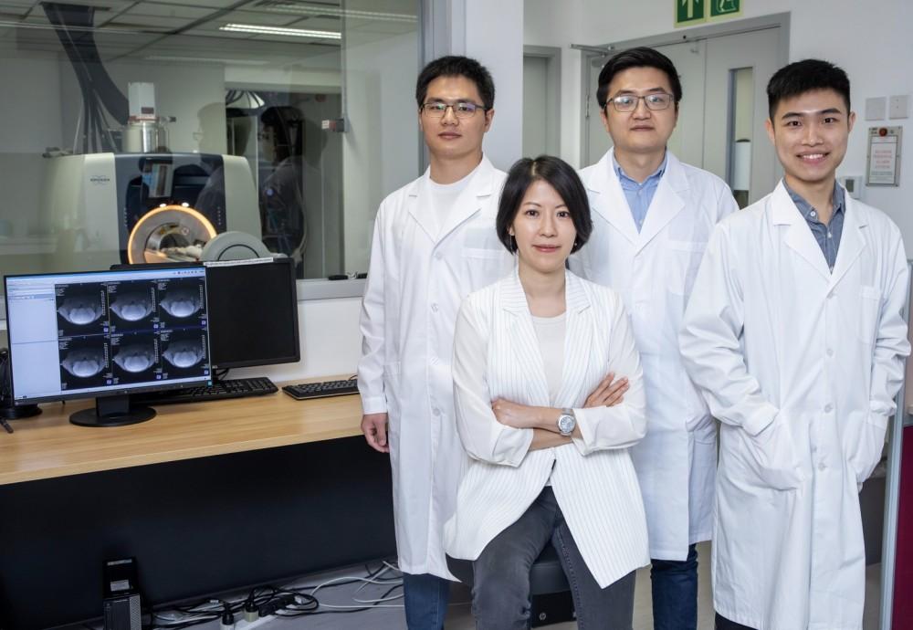 香港城市大學和約翰.霍普金斯大學(Johns Hopkins University)科研人員聯合組成的團隊,成功開發出一種基於動態化學交換飽和轉移磁力共振成像(Chemical Exchange Saturation Transfer MRI, CEST MRI)的新分子成像方法。