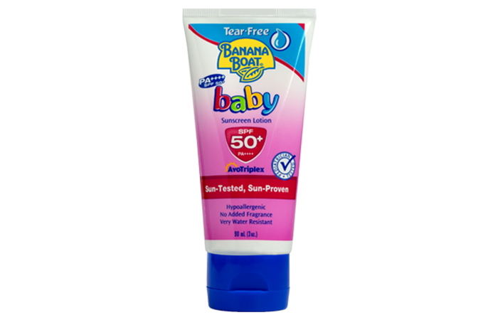 Banana Boat Baby Sunscreen Lotion SPF50+/PA+++