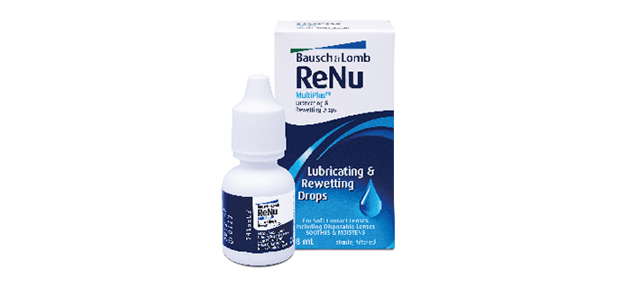 Bausch + Lomb ReNu MultiPlus Lubricating and Rewetting Drops