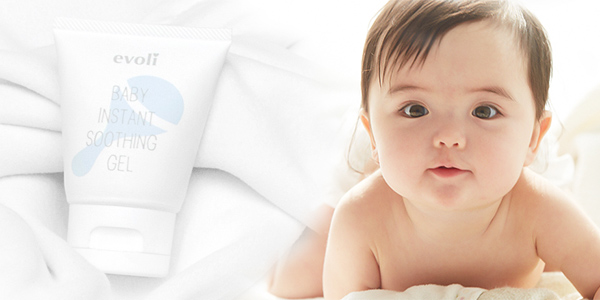 evoli baby instant soothing gel