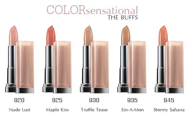 maybelline color sensational the buffs shade