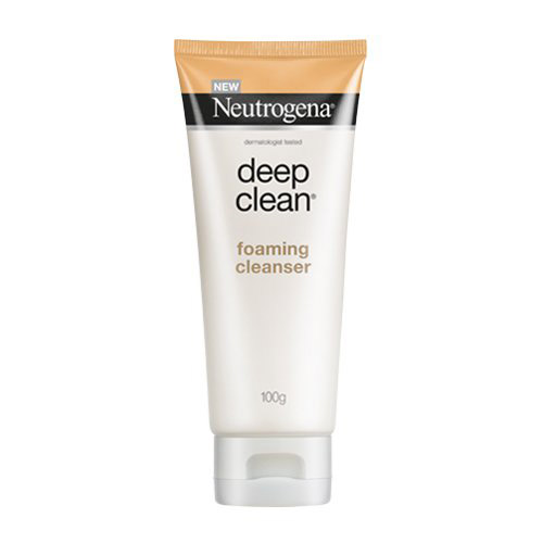 คุชชั่นโฟม Neutrogena Deep Clean Foaming Cleanser