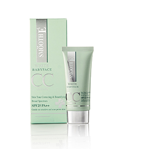 smooth e white baby face cc cream
