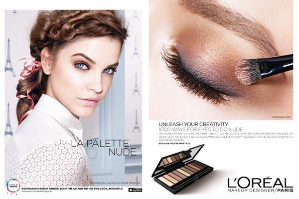 l'oreal color riche la palette nude