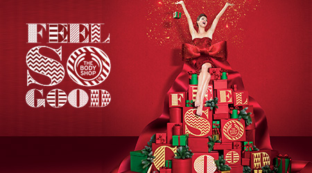 promotion the body shop