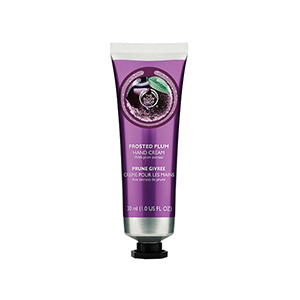 the body shop frosted plum hand cream