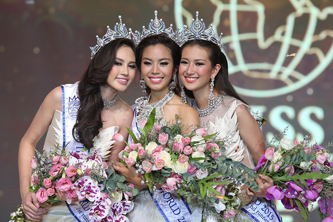 prnews miss thailand world 2015